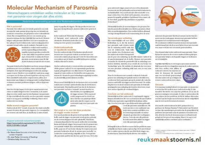 Parosmieonderzoek